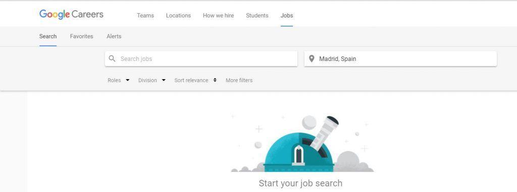 Búsqueda de empleos