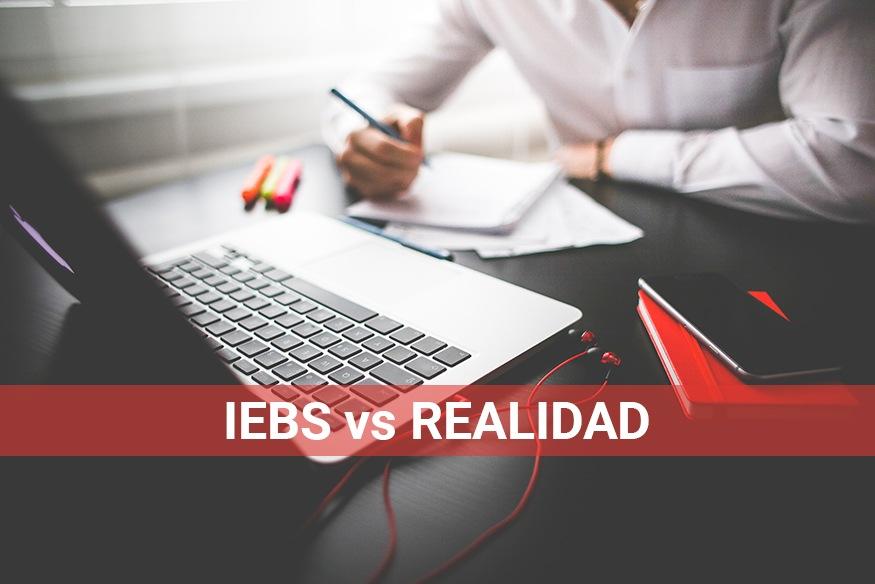 IEBS vs Realidad