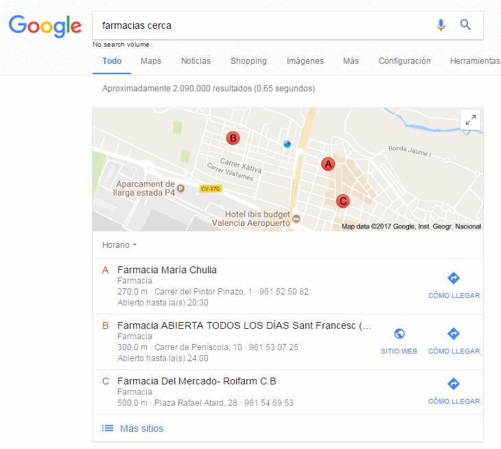 farmacias cerca