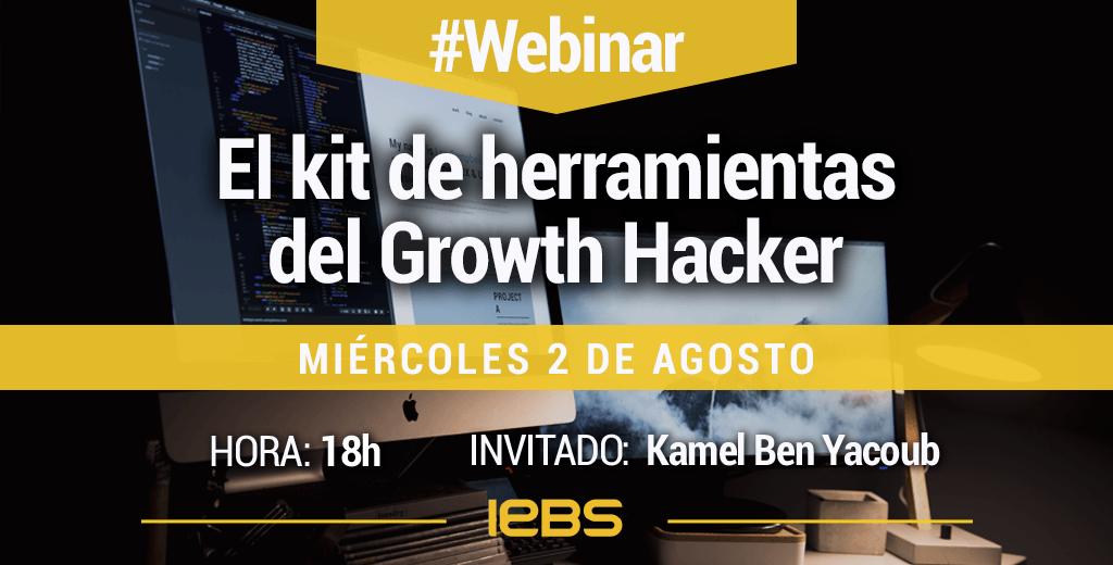 Webinar El Kit de herramientas del Growth Hacker