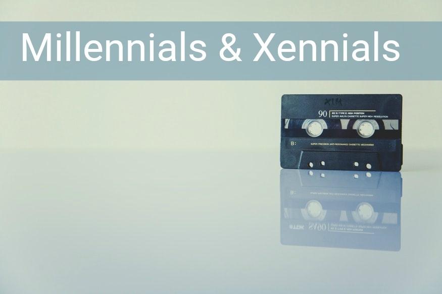 Millennials y Xennials: las generaciones casi parecidas