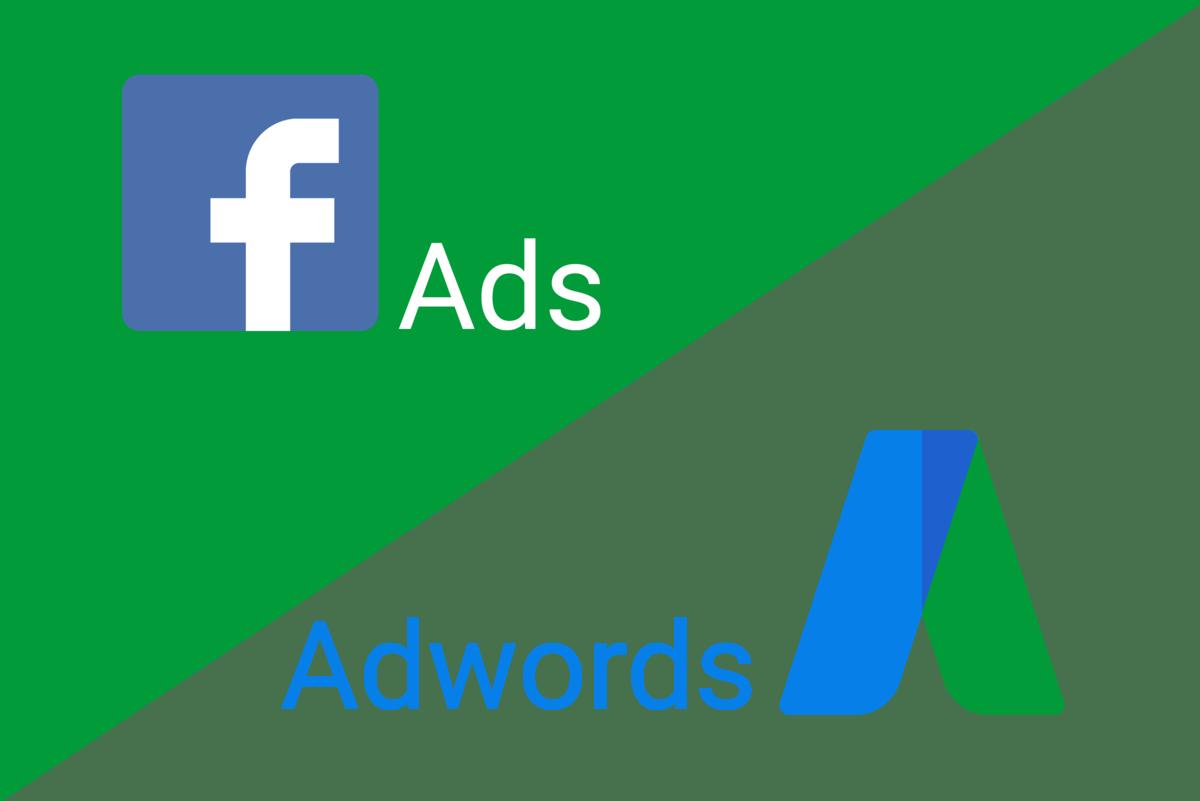 Adwords vs Facebook Ads