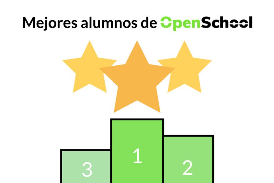Anunciamos los mejores alumnos de Open School