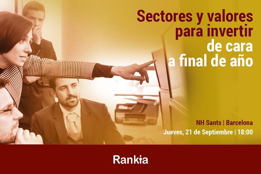 Rankia te invita a la Jornada de Trading con los sectores donde invertir