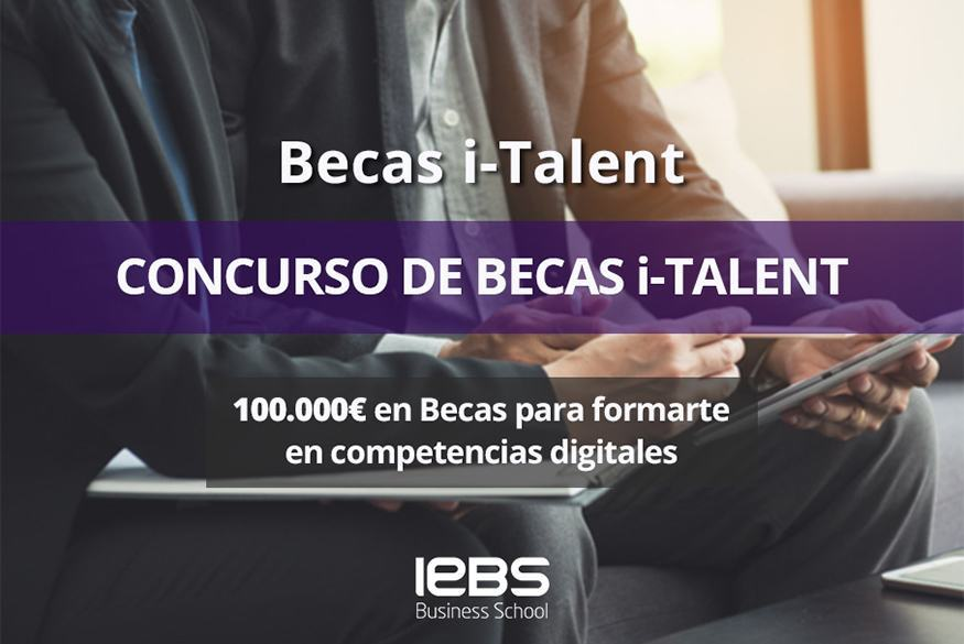 Consigue la especialización que te falta con las Becas i-Talent de IEBS y Axel Springer