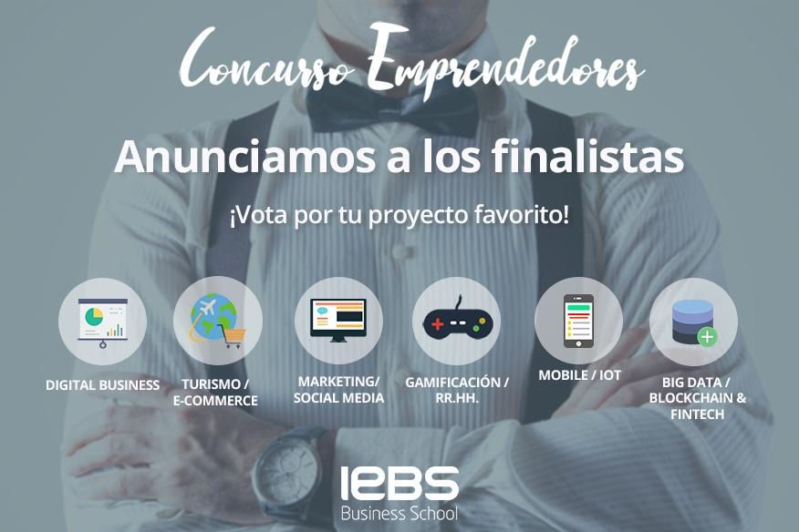 El Concurso de Emprendedores 2018 anuncia a sus finalistas. ¡Vota por tu proyecto favorito!