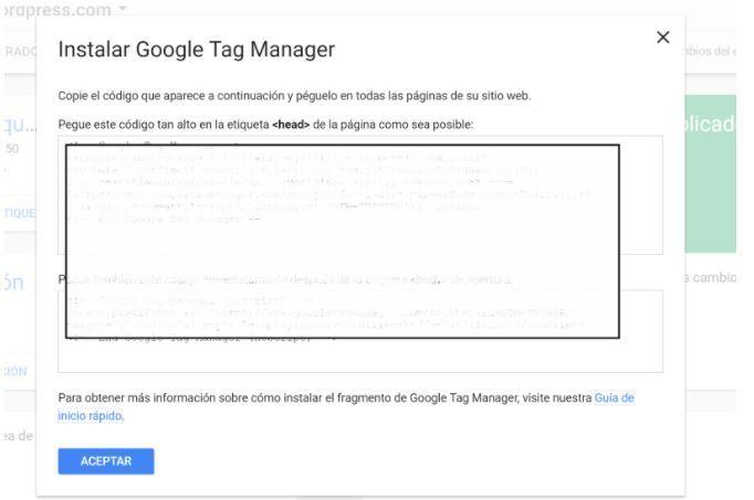 instalar google tag