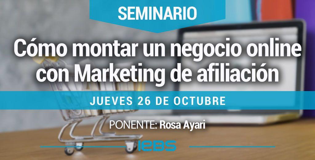 Cómo montar un negocio online con Marketing de afiliación