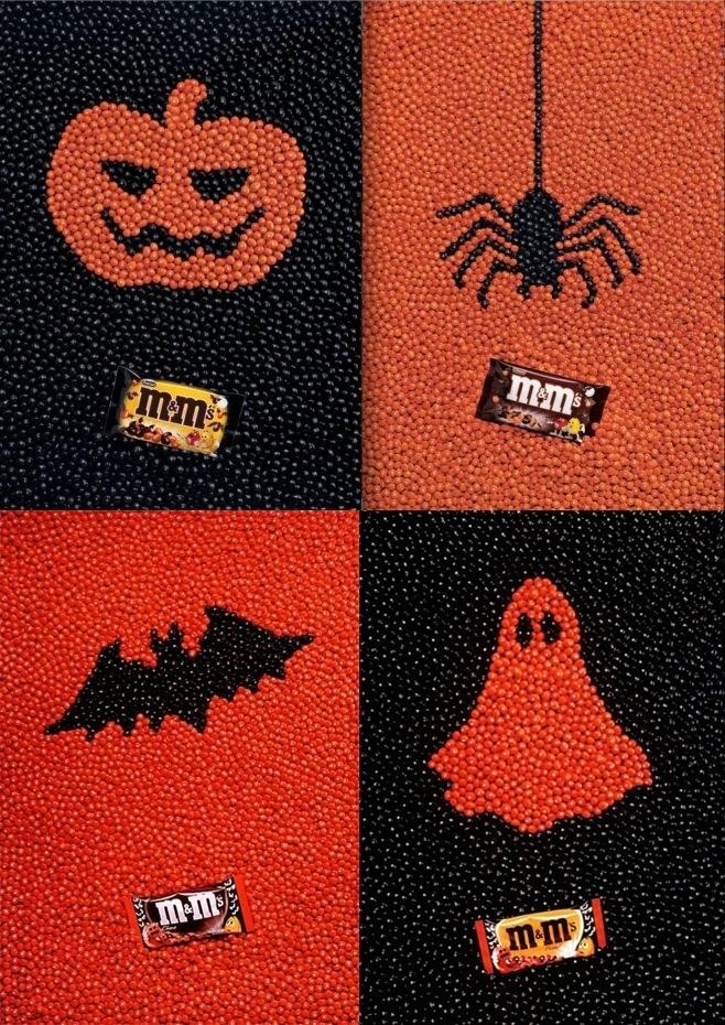 Campañas de publicidad de Halloween M&M