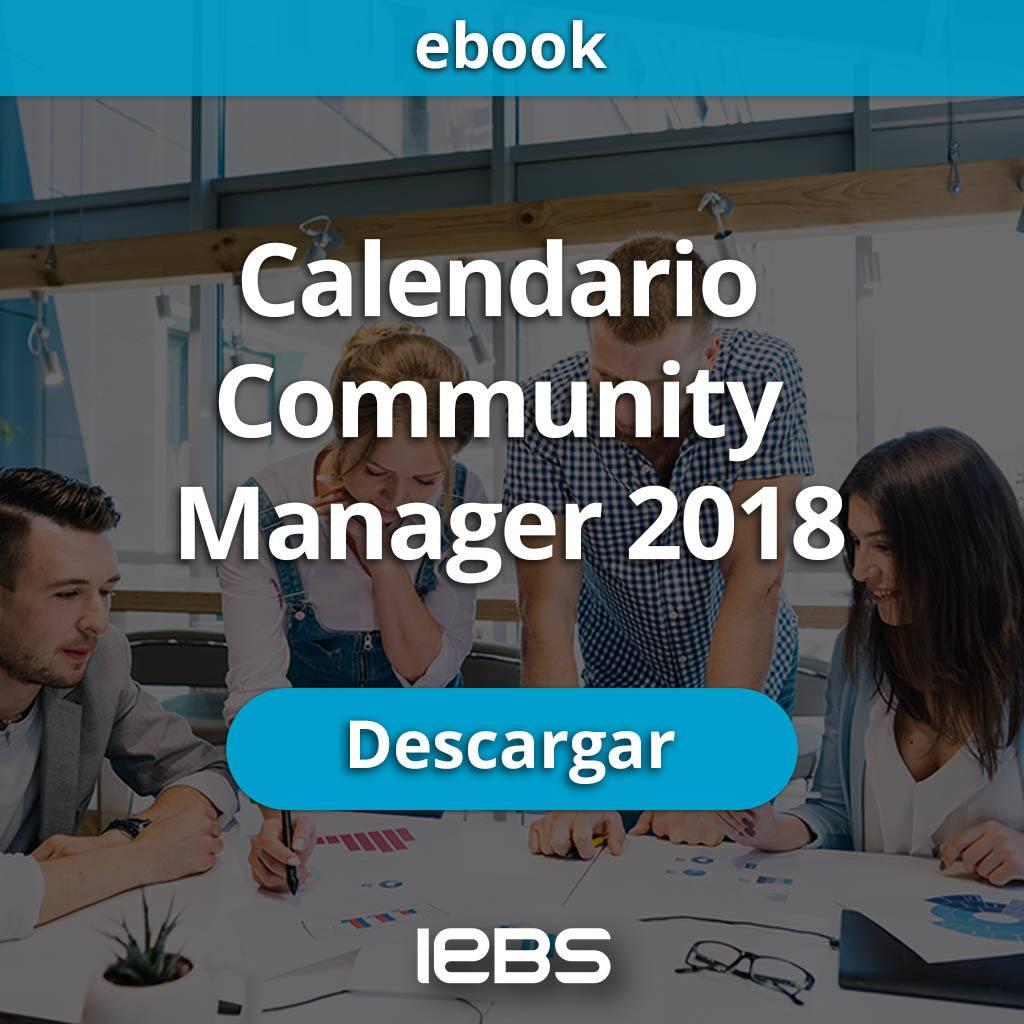 Calendario community manager