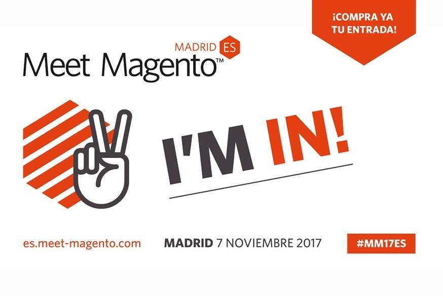 Llega a Madrid la 4ª edición del Meet Magento Spain 2017