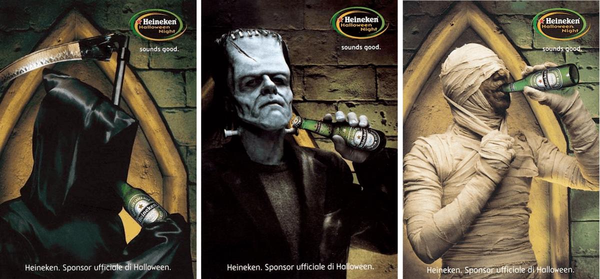 Campañas de publicidad de Halloween Heineken