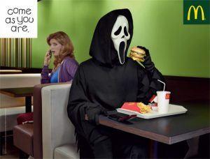 Campañas de publicidad de Halloween McDonald