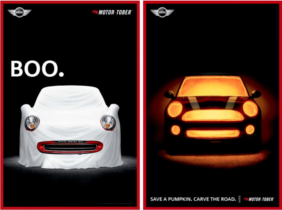 Campañas de publicidad de Halloween Mini