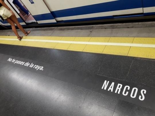 Narcos, no te pases de la raya