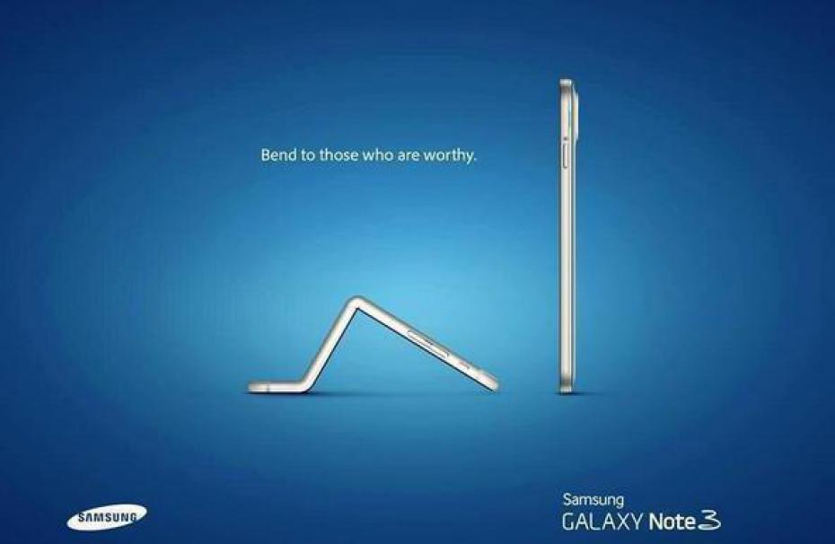 Samsung intenta ridiculizar a Apple