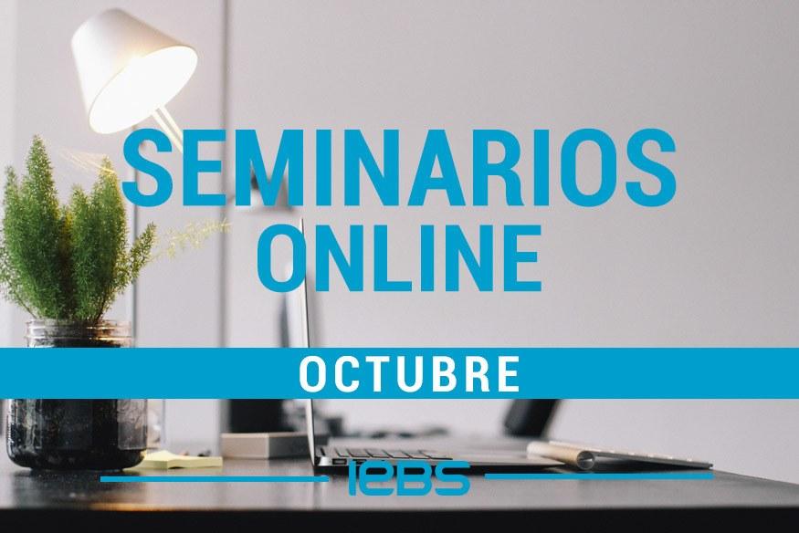 Seminarios online gratuitos que no te puedes perder en octubre