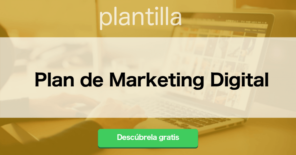 Plantilla Plan de Marketing Digital
