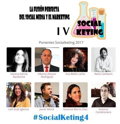 ponentes Encuentro SocialKeting