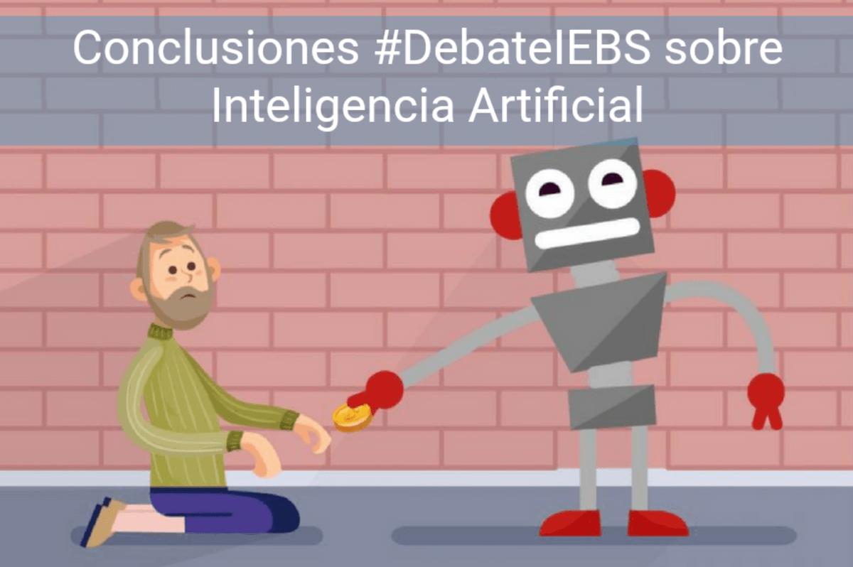 Conclusiones del #DebateIEBS sobre Inteligencia Artificial