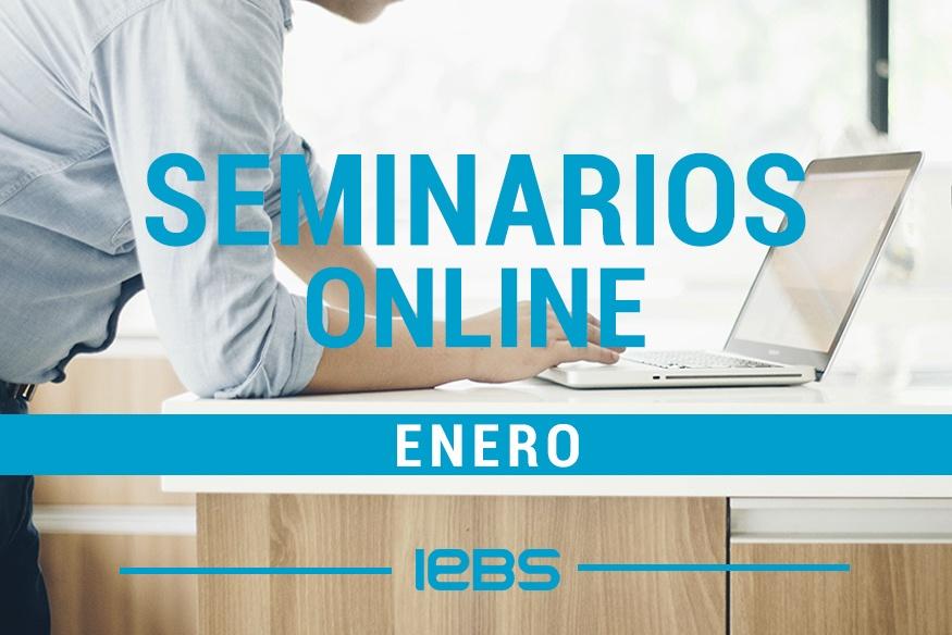Seminarios online gratuitos que no te puedes perder en enero