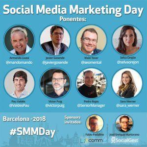Agenda de Ponentes SMMDay Barcelona 2018