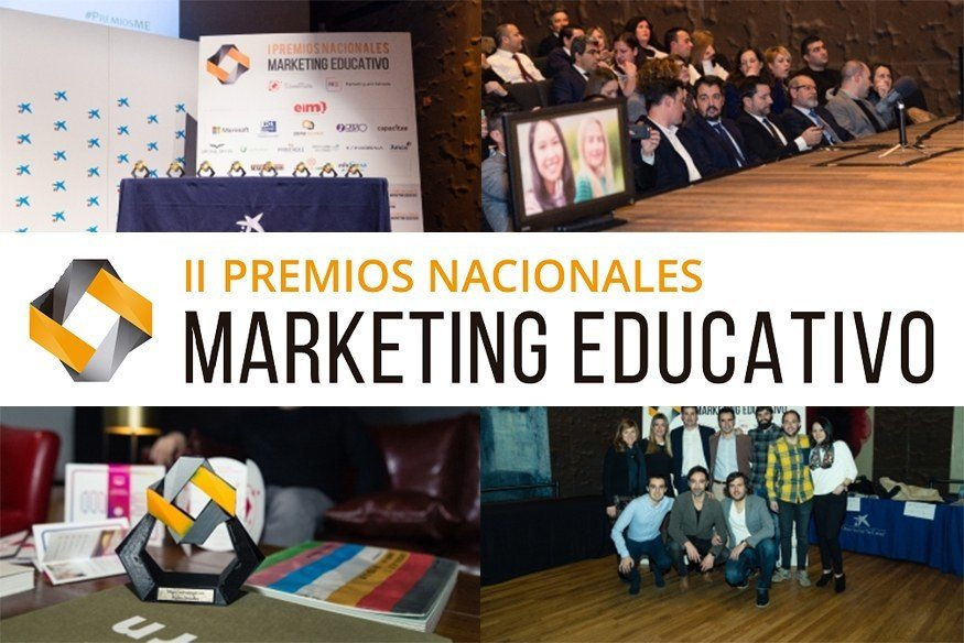 Regresan los II Premios Nacionales de Marketing Educativo