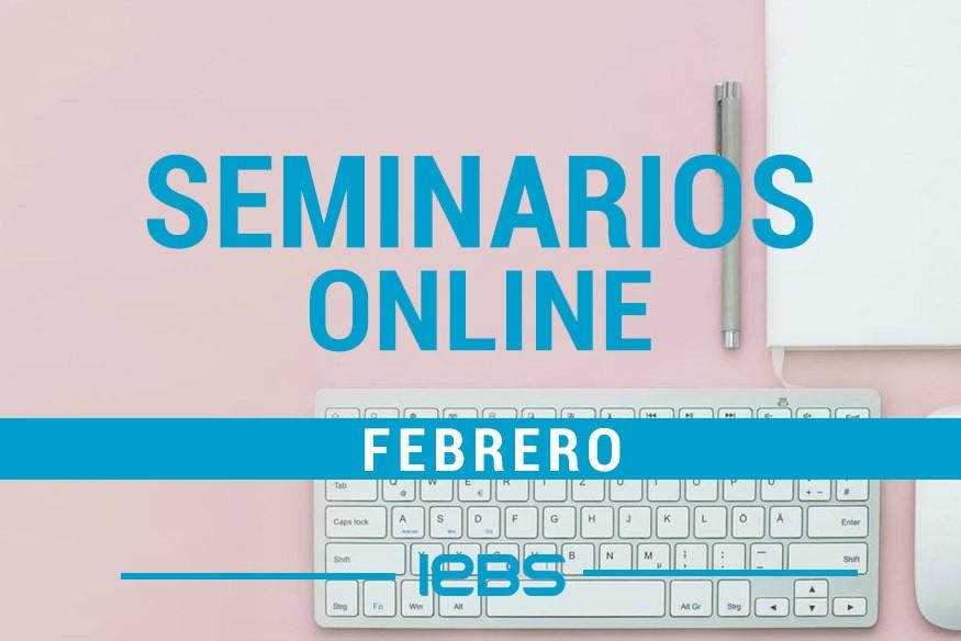 Seminarios online gratuitos que no te puedes perder en marzo
