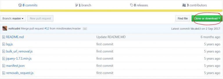 Eliminar URLs Search Console primer paso