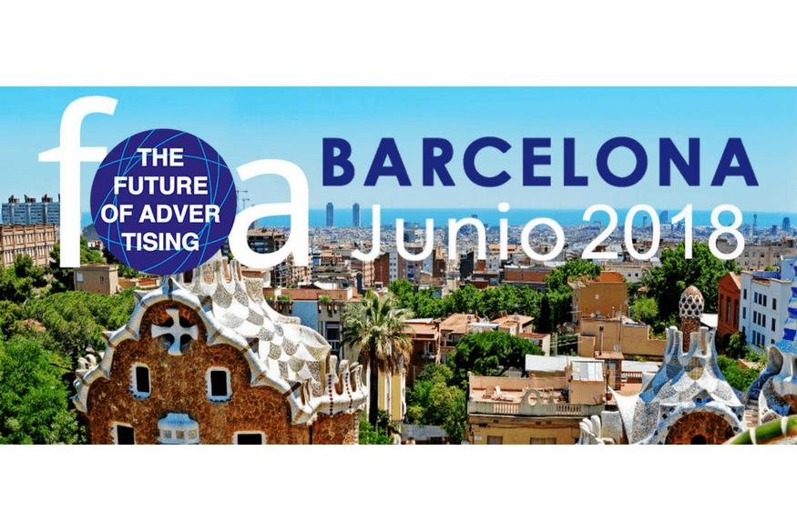¿Cómo será la publicidad del futuro? Descúbrelo en FOA Barcelona 2018