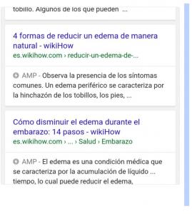 amp ejemplo en serp