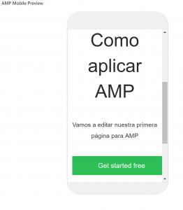 ejemplo cómo aplicar amp