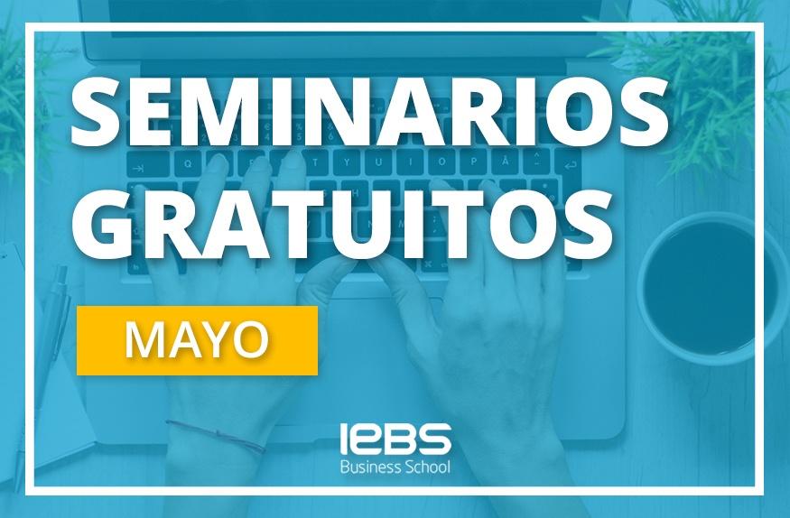 Seminarios online gratuitos que no te puedes perder en mayo