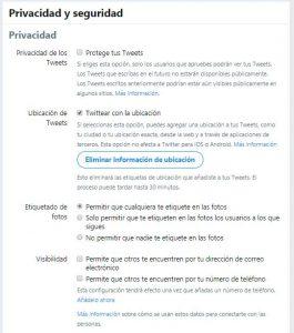 Proteger twitter
