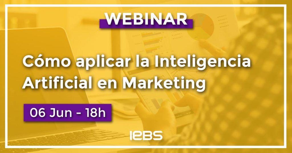 cómo aplicar inteligencia artificial en marketing webinar