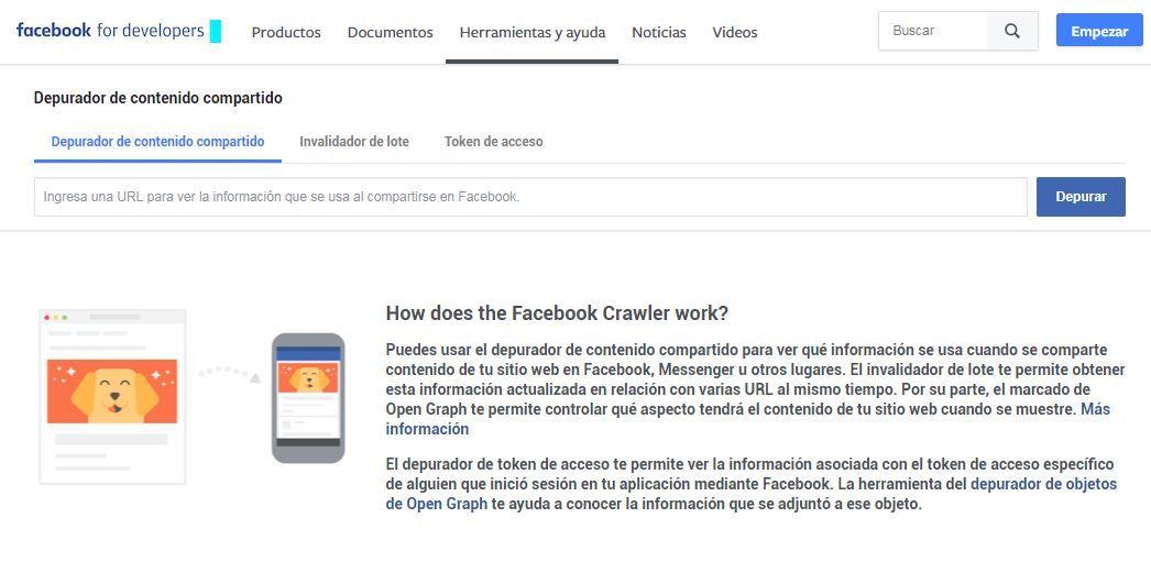 Cómo actualizar el caché en Facebook