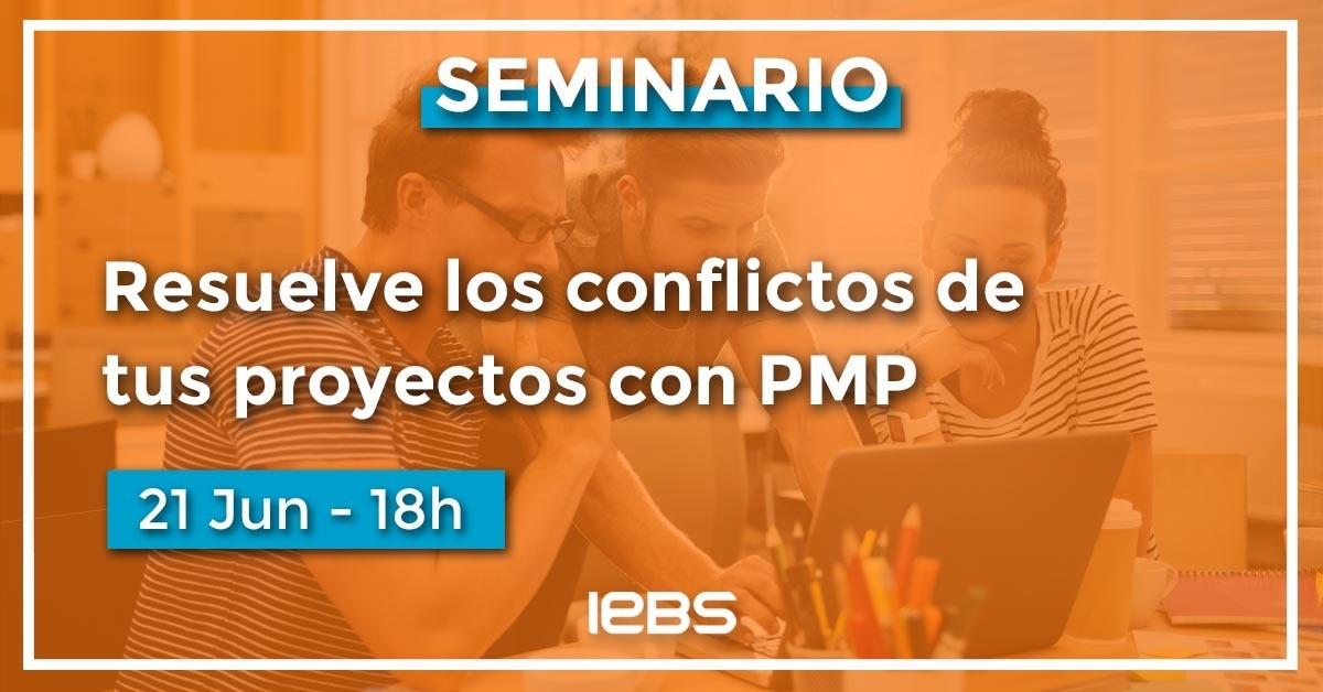 Seminario, cómo resolver los conflictos con PMP