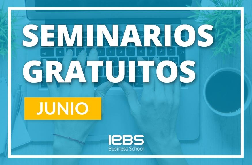 Seminarios online gratuitos que no te puedes perder en junio