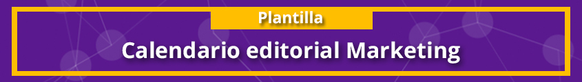 R060 - Calendario editorial Marketing blog morado