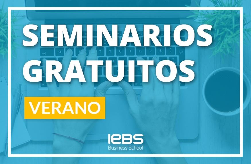 Seminarios online gratuitos que no te puedes perder en agosto y septiembre