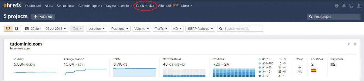 Ahrefs_Rank_Tracker