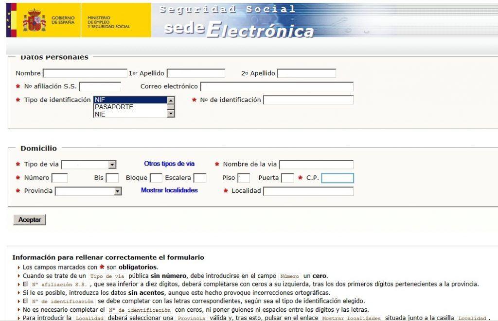 Solicitar informe de vida laboral con certificado digital