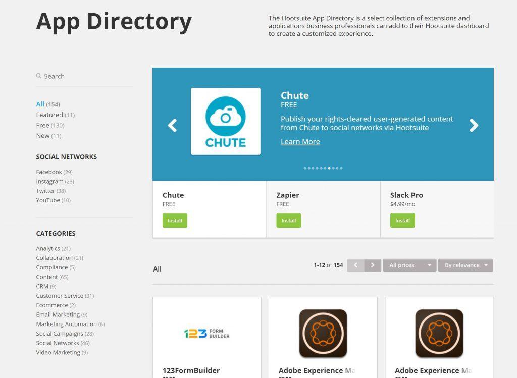 apps hootsuite