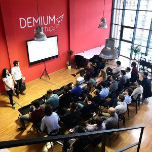 evento Demium Startups