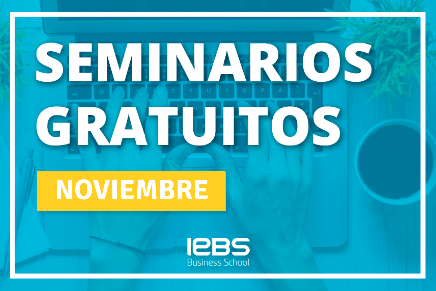 Seminarios online gratuitos que no te puedes perder en noviembre