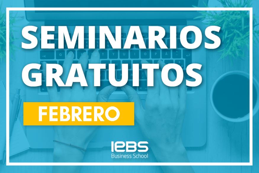 Seminarios online gratuitos que no te puedes perder en febrero