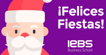 IEBS te desea Felices Fiestas y Próspero año nuevo