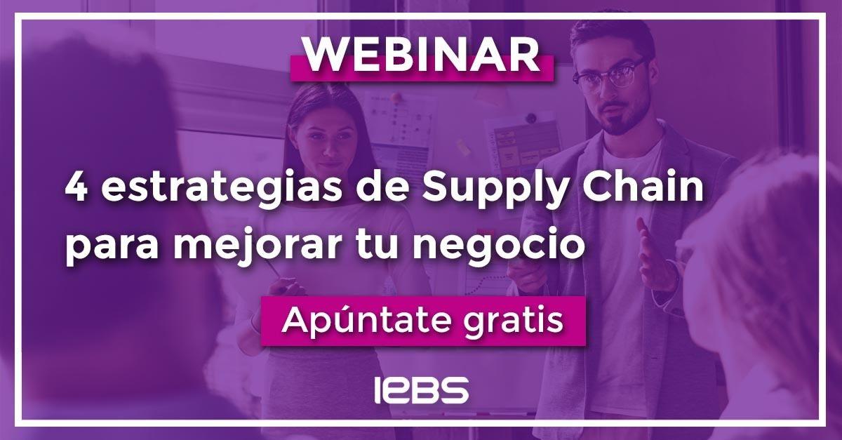 Webinar: 4 estrategias de Supply Chain para mejorar tu negocio