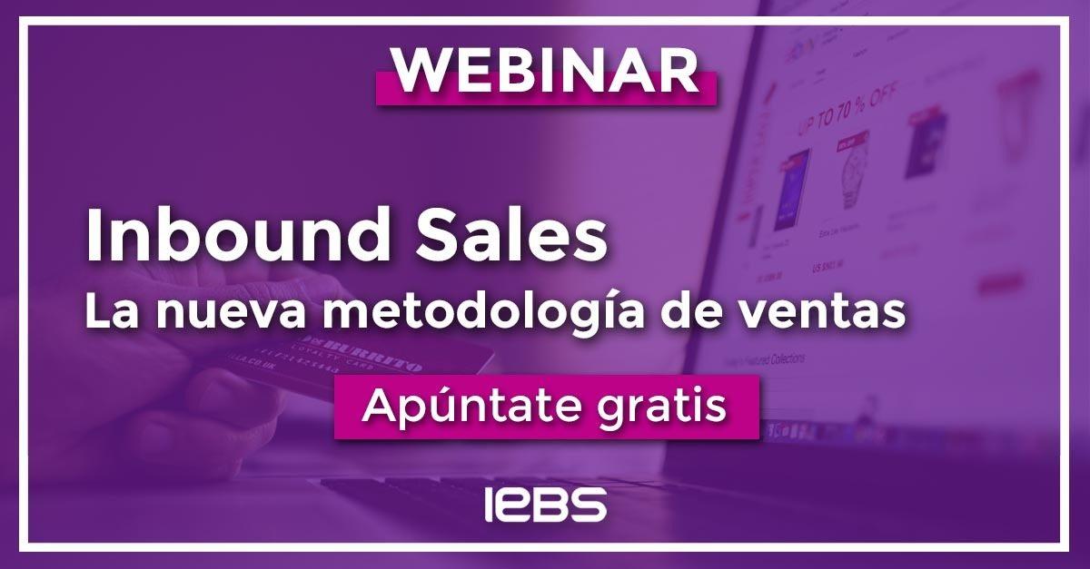Webinar: Inbound Sales la nueva metodología de ventas