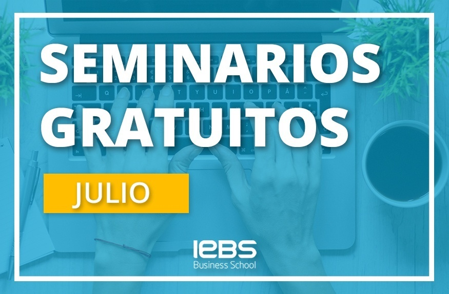 Seminarios online gratuitos que no te puedes perder en julio